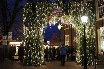 Wiehnachtsmarkt achter´d Waag